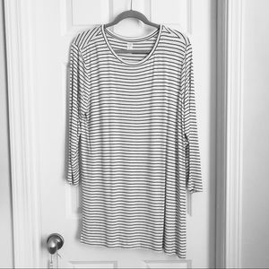 Striped comfy shirt